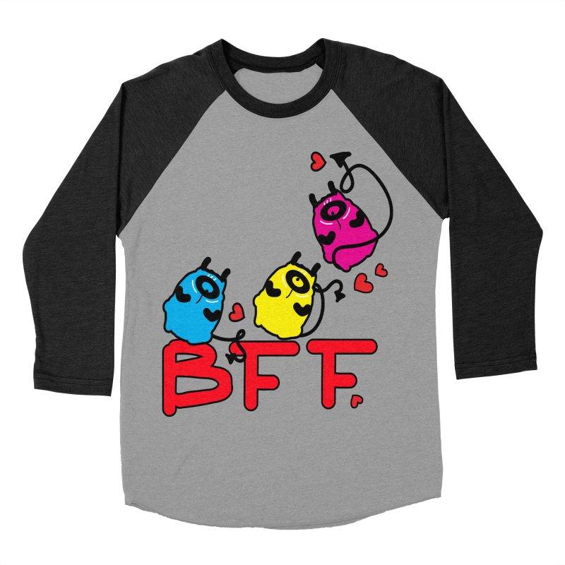 BFF MONSTERS Men's Baseball Triblend Longsleeve T-Shirt by cindyshim's Artist Shop