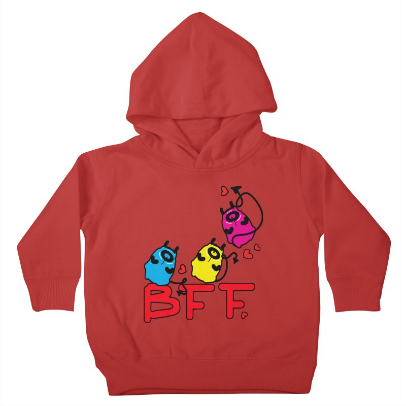 BFF MONSTERS Kids Toddler Pullover Hoody by cindyshim's Artist Shop