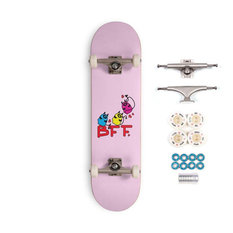 BFF MONSTERS Accessories Complete - Premium Skateboard by cindyshim's Artist Shop