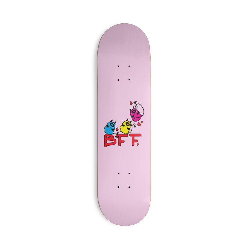 BFF MONSTERS Accessories Deck Only Skateboard by cindyshim's Artist Shop