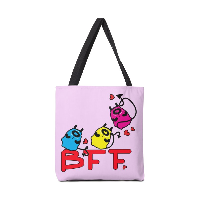 BFF MONSTERS Accessories Tote Bag Bag by cindyshim's Artist Shop