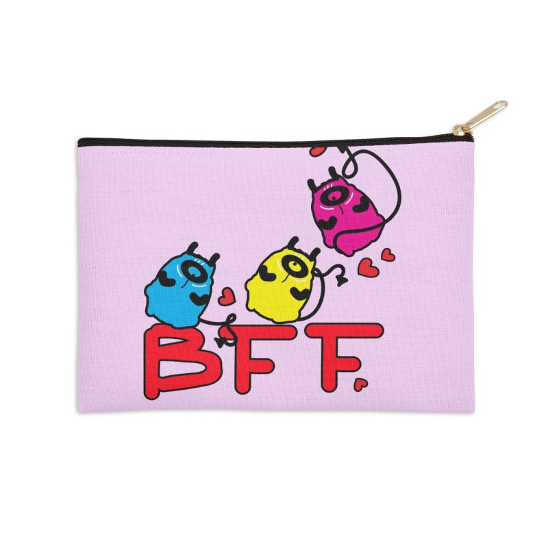 BFF MONSTERS Accessories Zip Pouch by cindyshim's Artist Shop