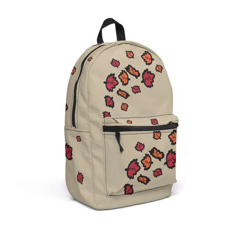 Autumn maple leaves Accessories Backpack Bag by cindyshim's Artist Shop