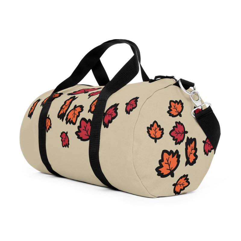 Autumn maple leaves Accessories Duffel Bag Bag by cindyshim's Artist Shop