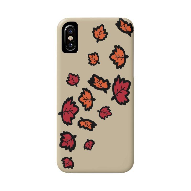 Autumn maple leaves Accessories Phone Case by cindyshim's Artist Shop