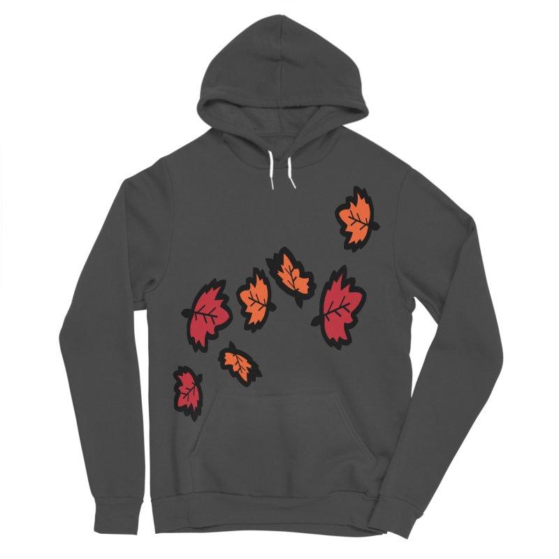 Autumn maple leaves Women's Sponge Fleece Pullover Hoody by cindyshim's Artist Shop