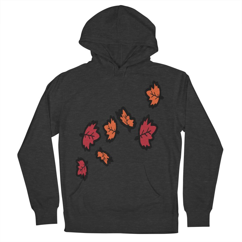 Autumn maple leaves Women's French Terry Pullover Hoody by cindyshim's Artist Shop