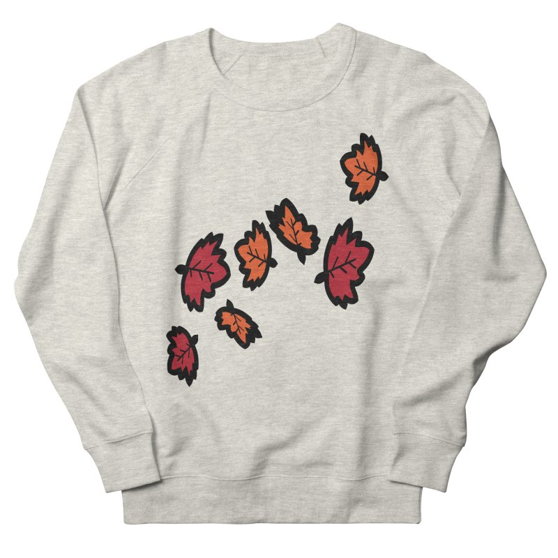 Autumn maple leaves Men's French Terry Sweatshirt by cindyshim's Artist Shop