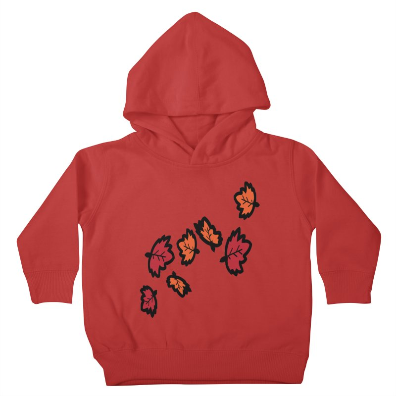 Autumn maple leaves Kids Toddler Pullover Hoody by cindyshim's Artist Shop