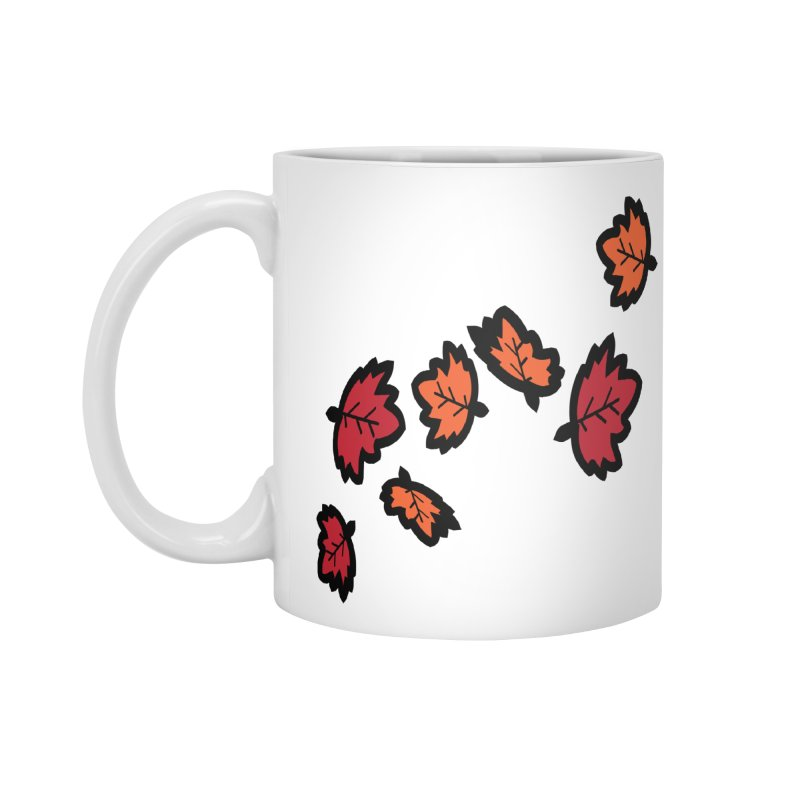 Autumn maple leaves Accessories Standard Mug by cindyshim's Artist Shop