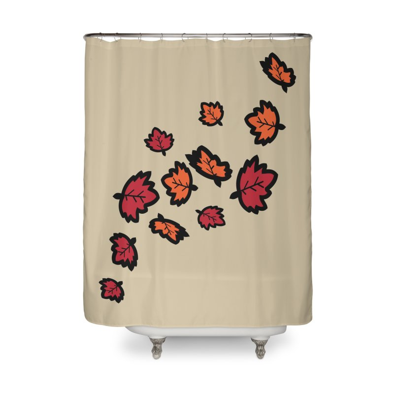 Autumn maple leaves Home Shower Curtain by cindyshim's Artist Shop
