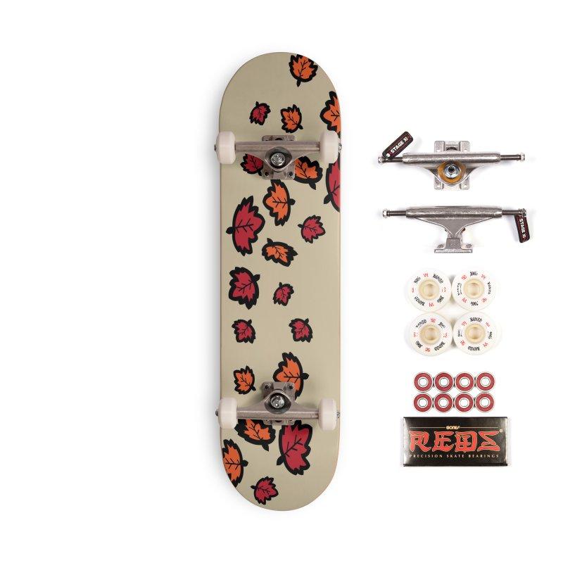 Autumn maple leaves Accessories Complete - Pro Skateboard by cindyshim's Artist Shop