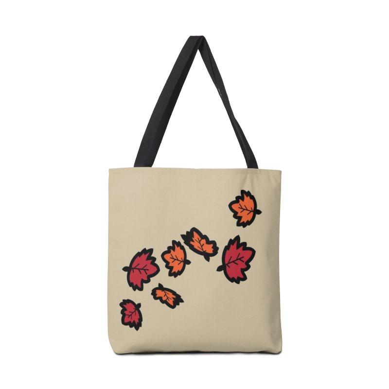 Autumn maple leaves Accessories Tote Bag Bag by cindyshim's Artist Shop
