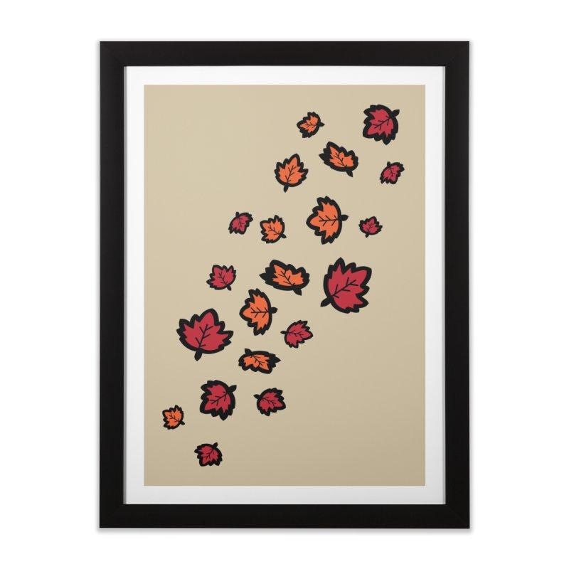 Autumn maple leaves Home Framed Fine Art Print by cindyshim's Artist Shop