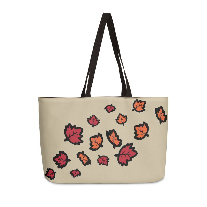 Autumn maple leaves Accessories Weekender Bag Bag by cindyshim's Artist Shop