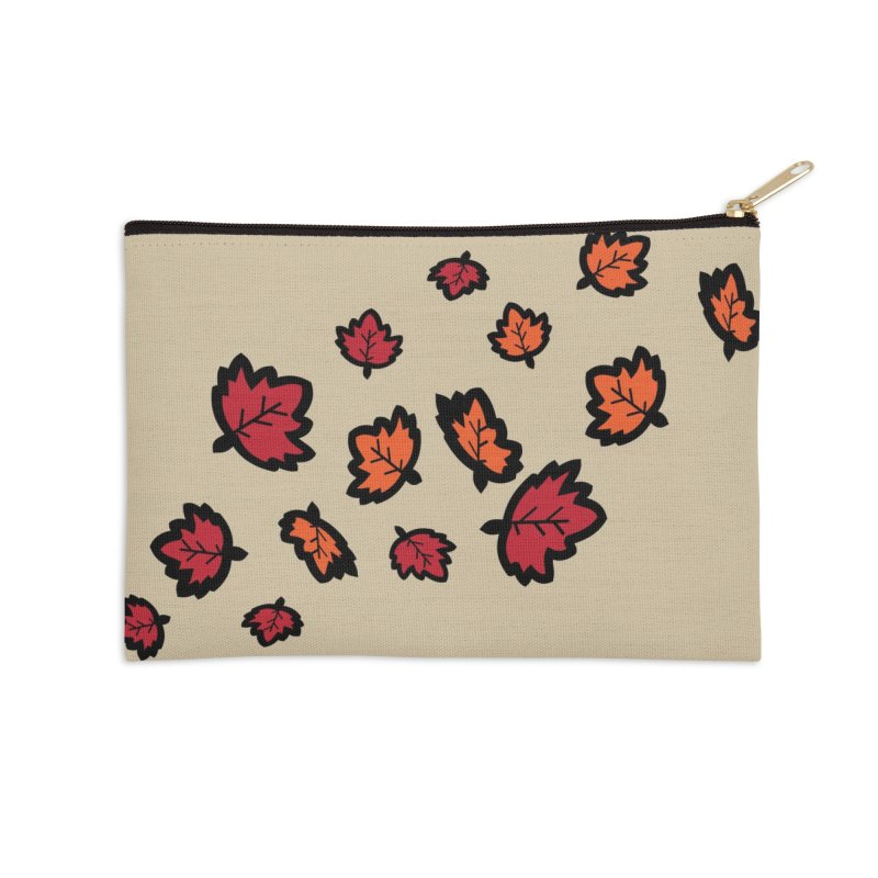 Autumn maple leaves Accessories Zip Pouch by cindyshim's Artist Shop