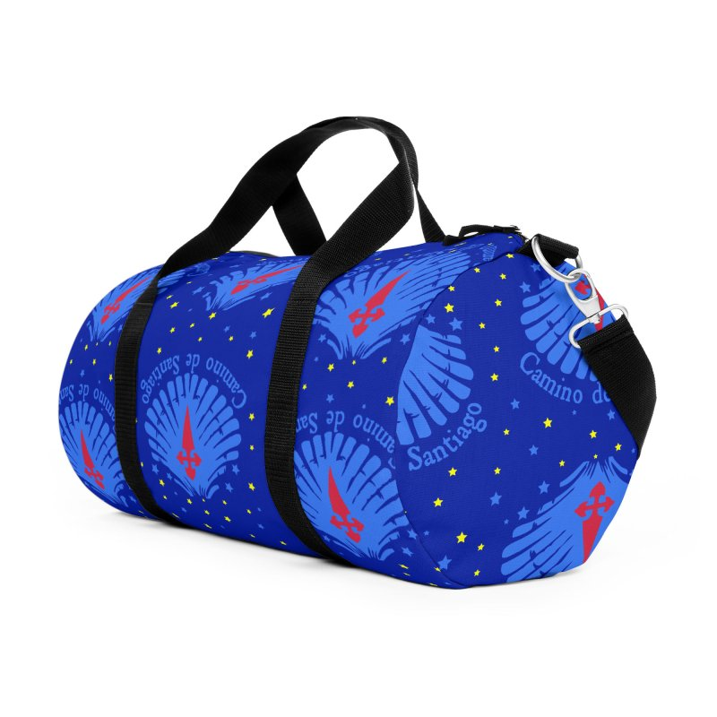 Camino de Santiago Accessories Duffel Bag Bag by cindyshim's Artist Shop