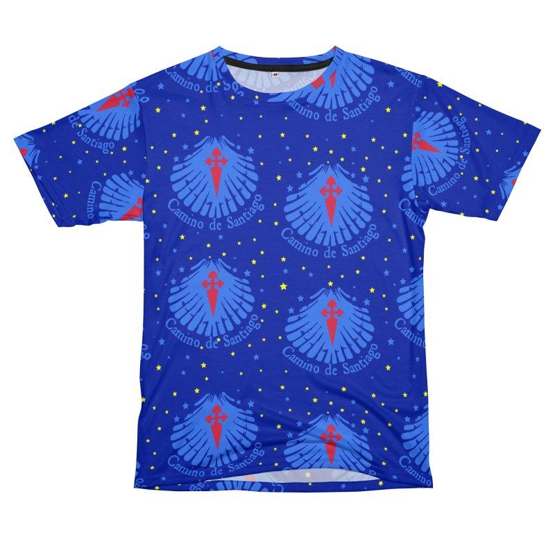 Camino de Santiago Men's T-Shirt Cut & Sew by cindyshim's Artist Shop
