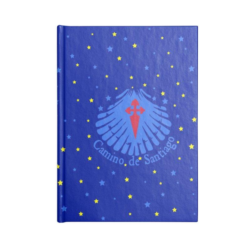 Camino de Santiago Accessories Lined Journal Notebook by cindyshim's Artist Shop