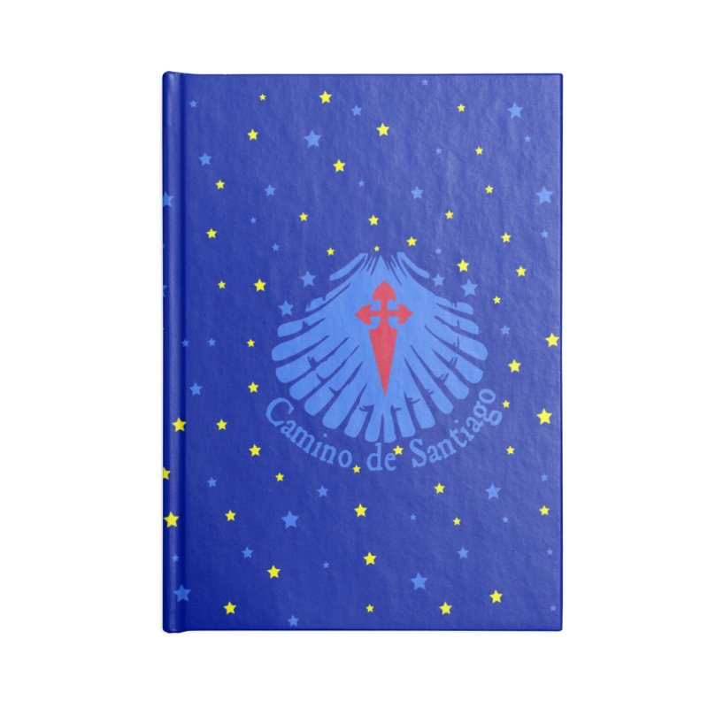 Camino de Santiago Accessories Blank Journal Notebook by cindyshim's Artist Shop