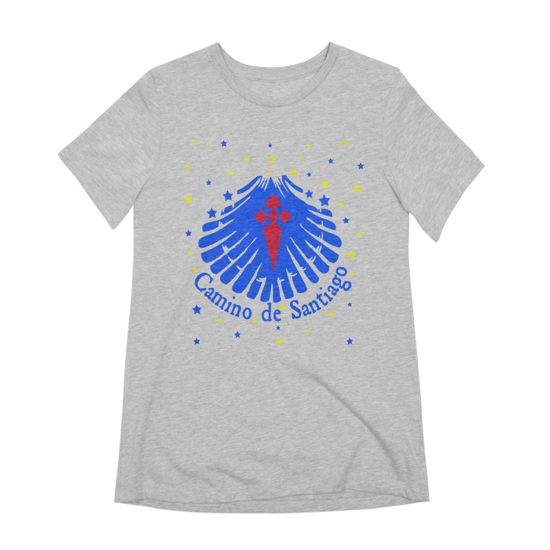 Camino de Santiago Women's Extra Soft T-Shirt by cindyshim's Artist Shop
