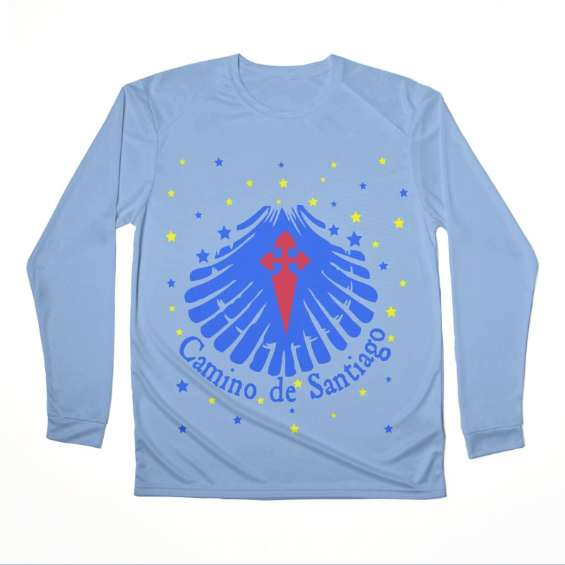 Camino de Santiago Men's Performance Longsleeve T-Shirt by cindyshim's Artist Shop