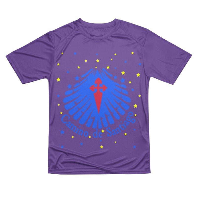 Camino de Santiago Men's Performance T-Shirt by cindyshim's Artist Shop