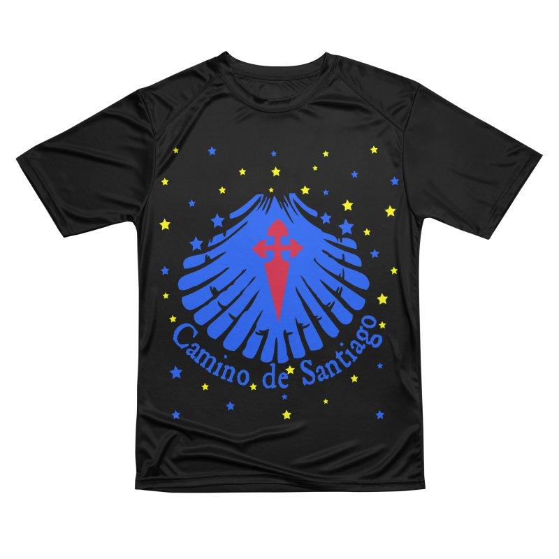 Camino de Santiago Women's Performance Unisex T-Shirt by cindyshim's Artist Shop