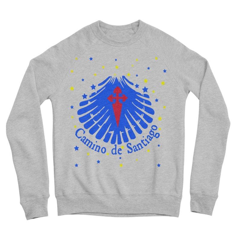 Camino de Santiago Women's Sponge Fleece Sweatshirt by cindyshim's Artist Shop