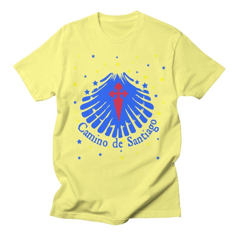 Camino de Santiago Men's Regular T-Shirt by cindyshim's Artist Shop