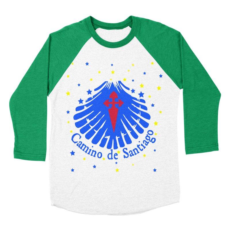 Camino de Santiago Women's Baseball Triblend Longsleeve T-Shirt by cindyshim's Artist Shop