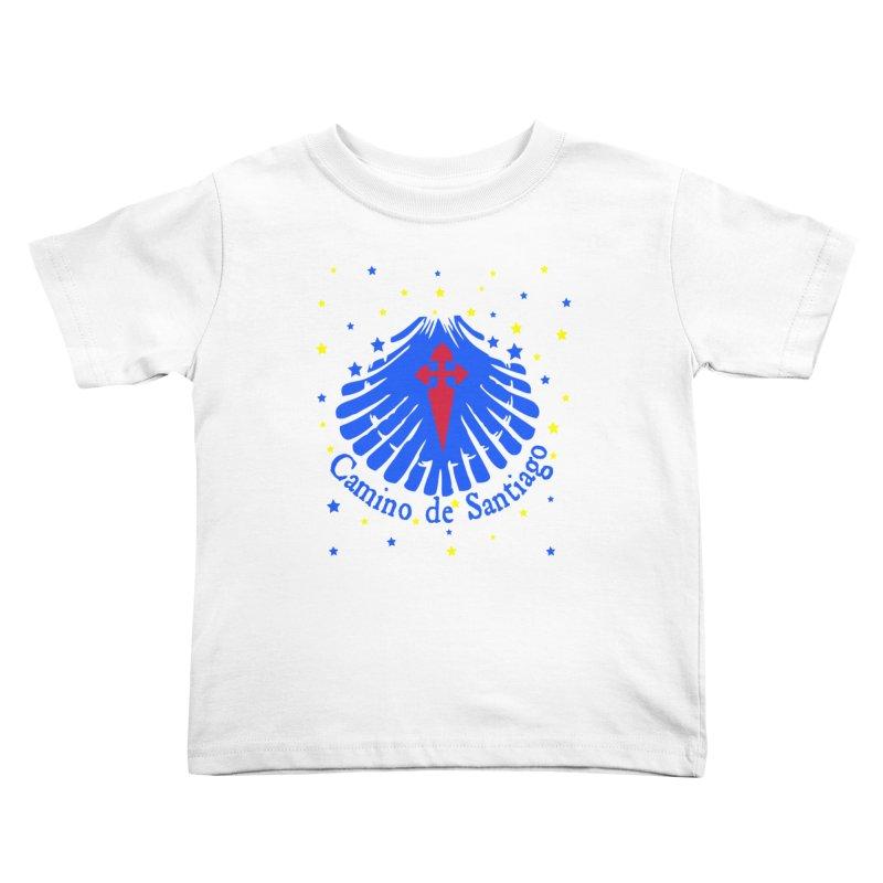 Camino de Santiago Kids Toddler T-Shirt by cindyshim's Artist Shop