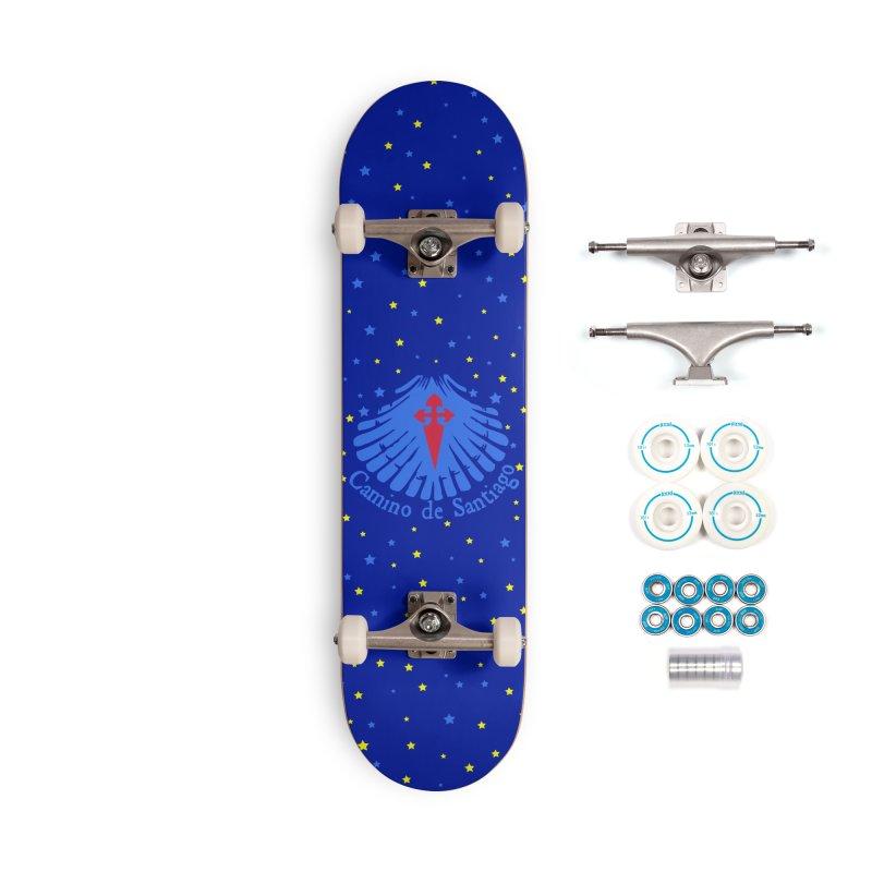 Camino de Santiago Accessories Complete - Basic Skateboard by cindyshim's Artist Shop