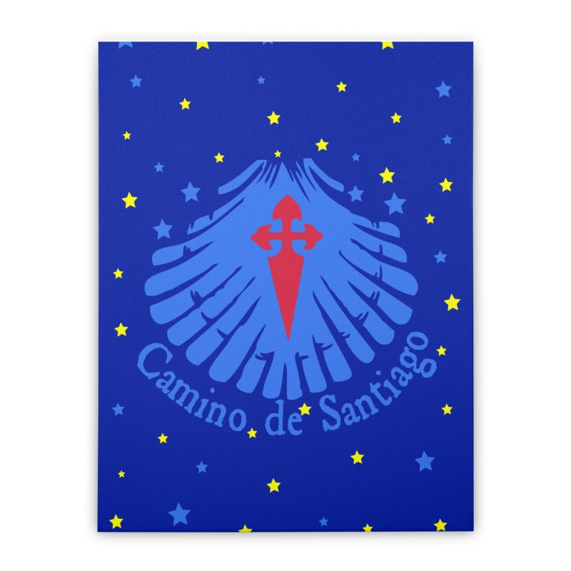 Camino de Santiago Home Stretched Canvas by cindyshim's Artist Shop