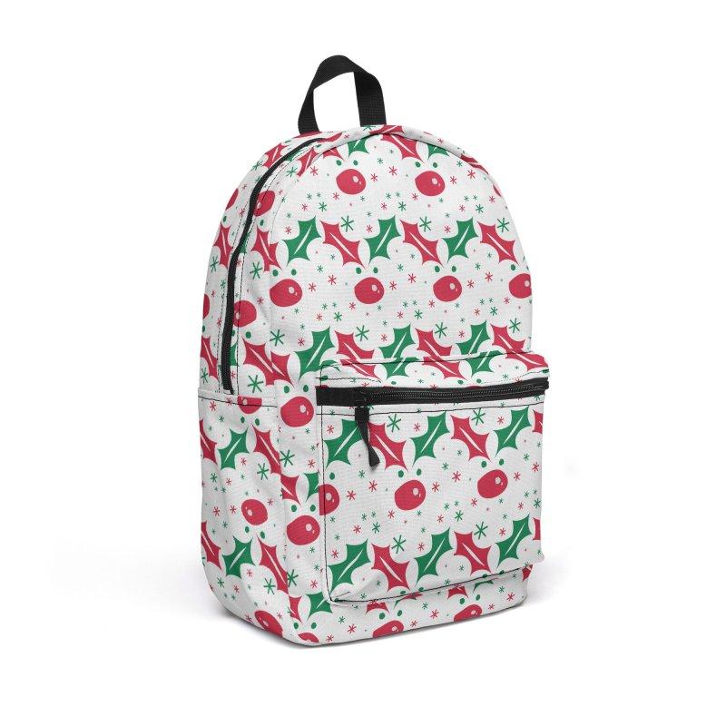 Holy leaves Reindeer Accessories Backpack Bag by cindyshim's Artist Shop