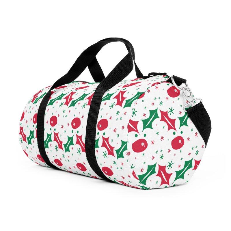 Holy leaves Reindeer Accessories Duffel Bag Bag by cindyshim's Artist Shop