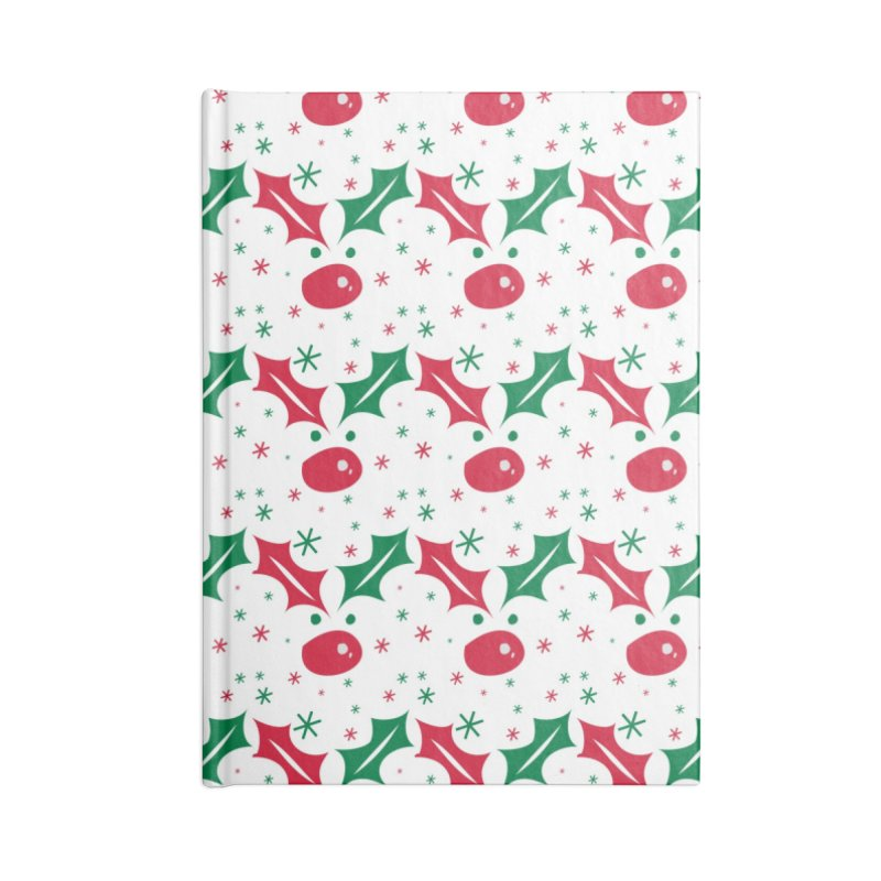 Holy leaves Reindeer Accessories Lined Journal Notebook by cindyshim's Artist Shop