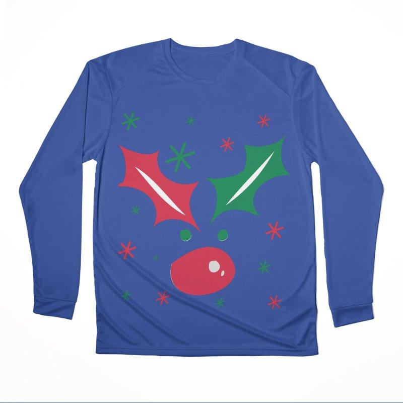 Holy leaves Reindeer Women's Performance Unisex Longsleeve T-Shirt by cindyshim's Artist Shop