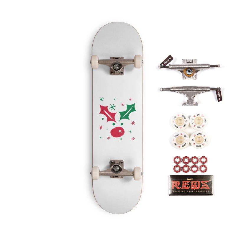 Holy leaves Reindeer Accessories Complete - Pro Skateboard by cindyshim's Artist Shop