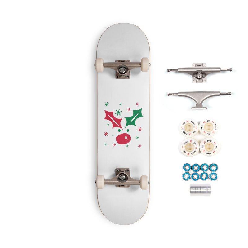 Holy leaves Reindeer Accessories Complete - Premium Skateboard by cindyshim's Artist Shop