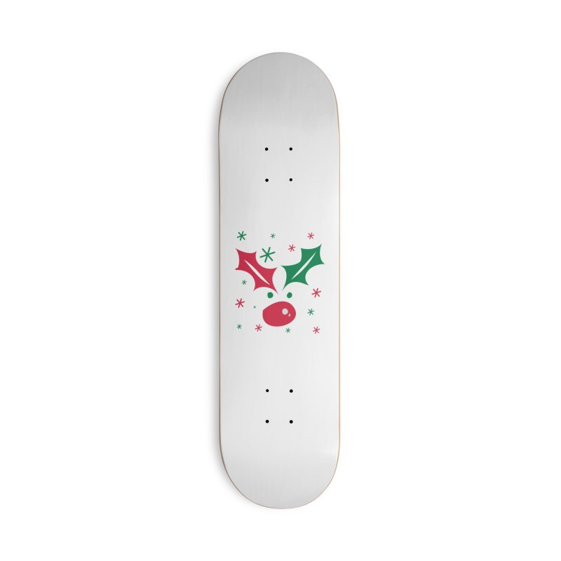 Holy leaves Reindeer Accessories Deck Only Skateboard by cindyshim's Artist Shop