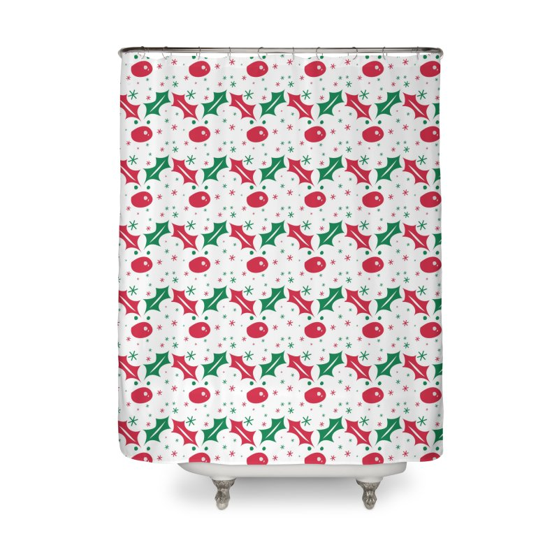 Holy leaves Reindeer Home Shower Curtain by cindyshim's Artist Shop
