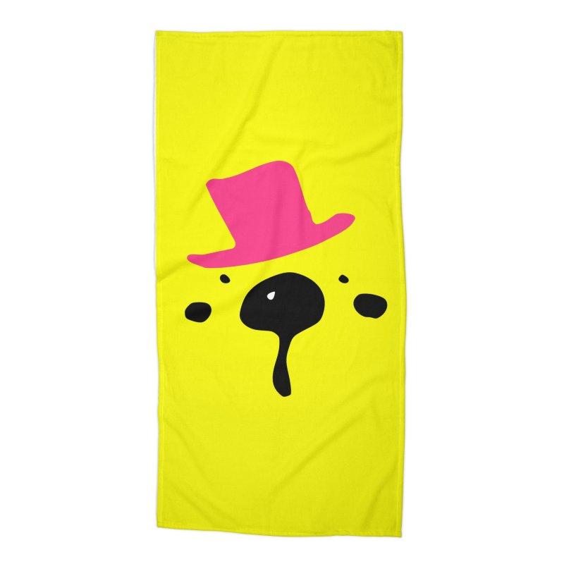 Panda Bear Accessories Beach Towel by cindyshim's Artist Shop