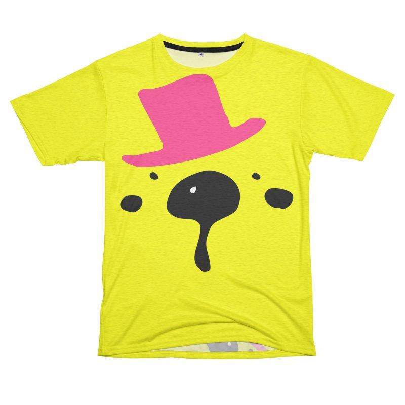 Panda Bear Women's Unisex French Terry T-Shirt Cut & Sew by cindyshim's Artist Shop