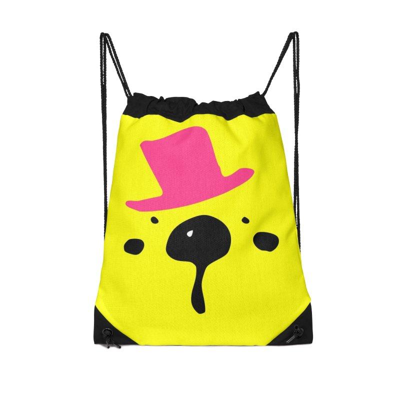 Panda Bear Accessories Drawstring Bag Bag by cindyshim's Artist Shop
