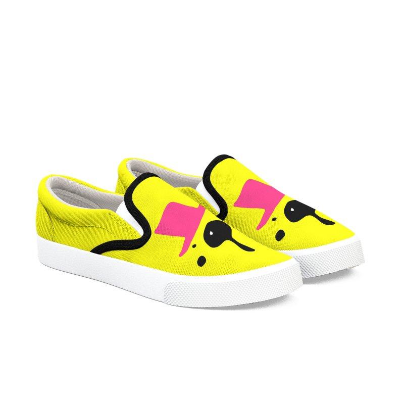 Panda Bear Women's Slip-On Shoes by cindyshim's Artist Shop