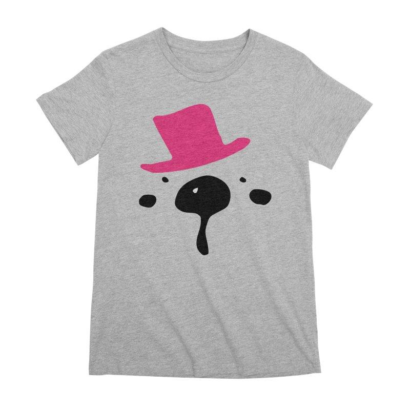 Panda Bear Women's Premium T-Shirt by cindyshim's Artist Shop