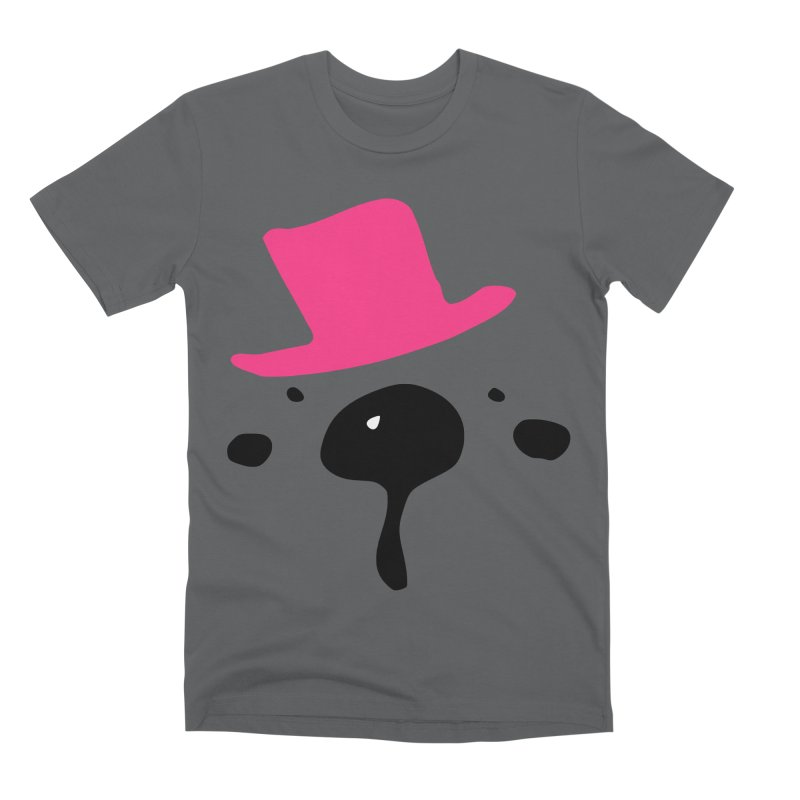 Panda Bear Men's Premium T-Shirt by cindyshim's Artist Shop