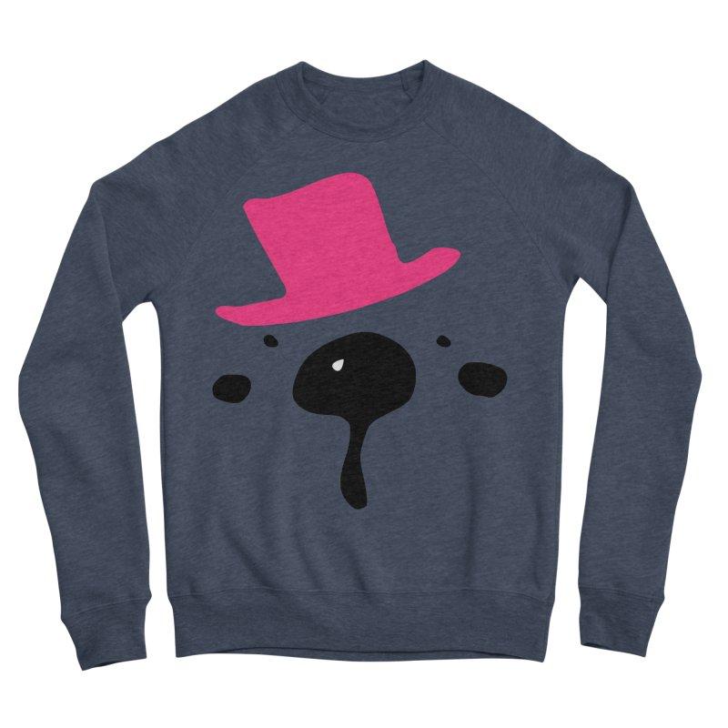 Panda Bear Men's Sponge Fleece Sweatshirt by cindyshim's Artist Shop