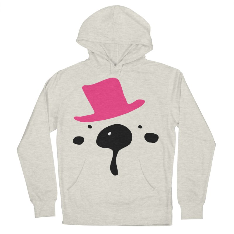 Panda Bear Women's French Terry Pullover Hoody by cindyshim's Artist Shop